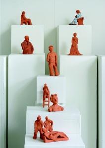 Eliza Kentridge, Figure Studies, 2012